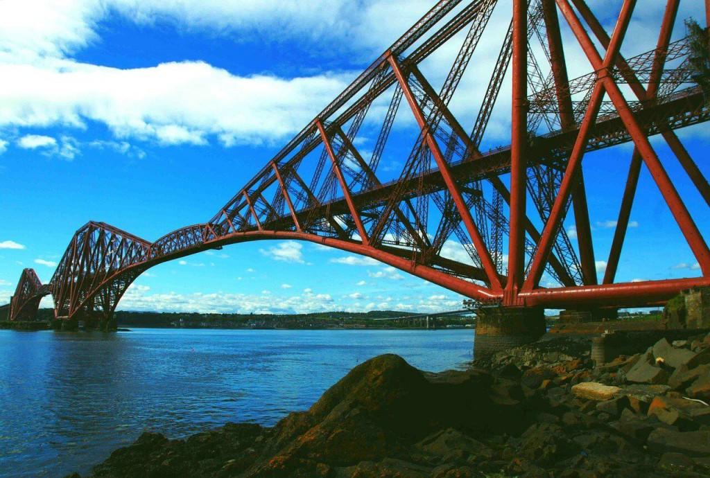 世界遺産 フォース鉄道橋-2